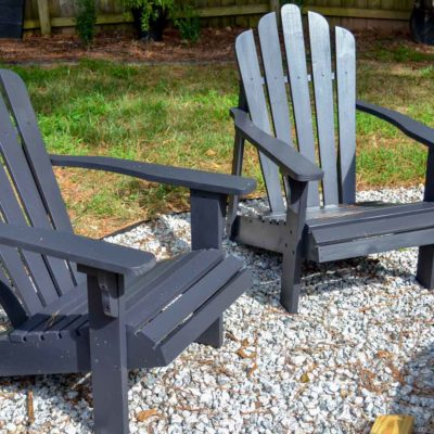 new adirondack paint color - Tricorn Black