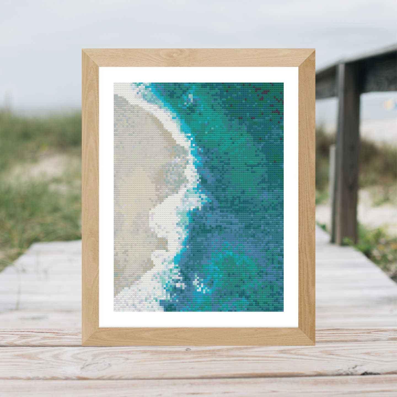 Beach Waves | Free Cross Stich Pattern