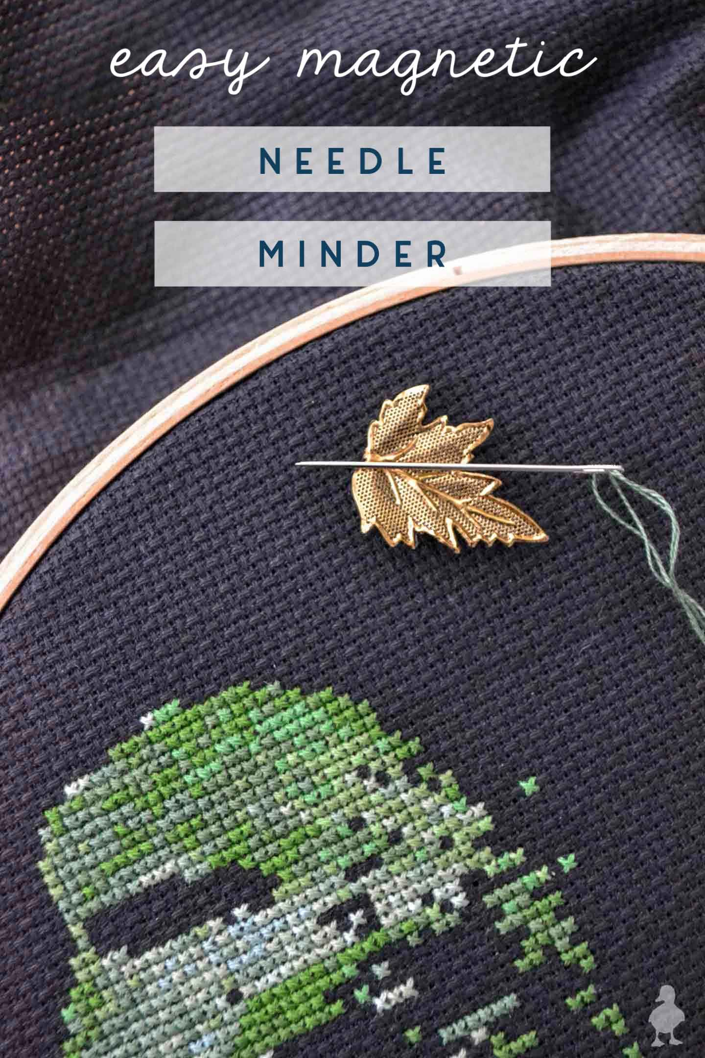 easy magnetic needle minder