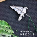 make your own magnetic needle minder