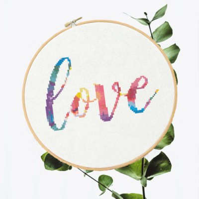 "Rainbow ""Love"" 