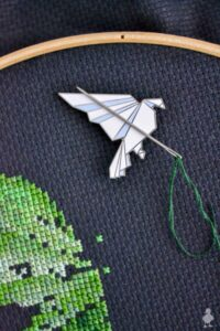 How to Make a Magnetic Needle Minder