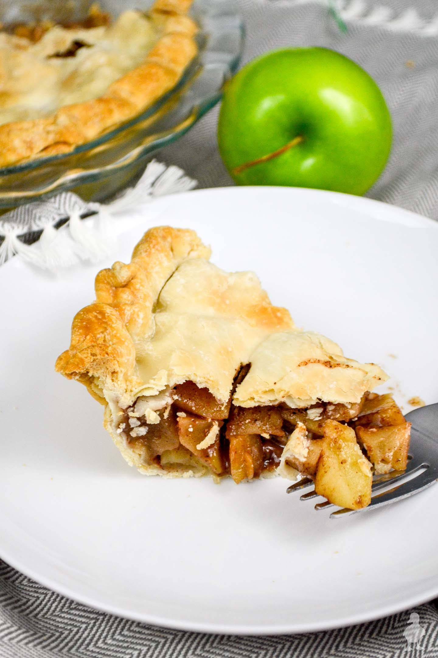 My family recipe rocks apple pie Classic Brandy Apple Pie Ugly Duckling House