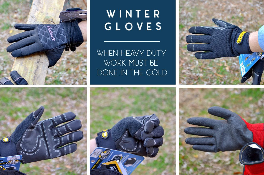 winter work gloves for small hands