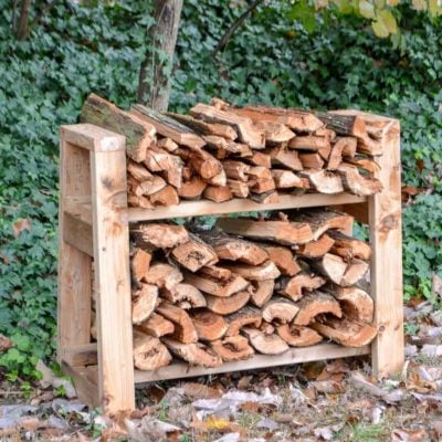 DIY Small Firewood Rack | Free Plans
