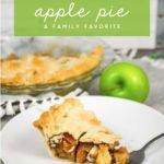 moms classic brandy apple pie recipe