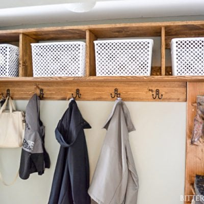 Mudroom Storage Cubbies | Free Plans