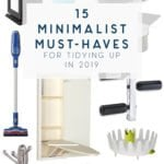 15 minimalist must haves for the home and tidying up
