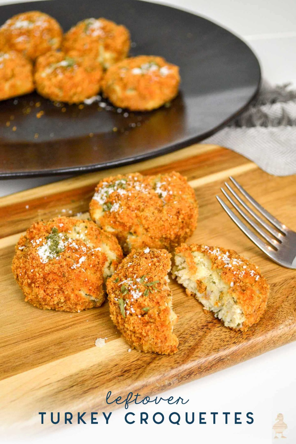 leftover thanksgiving turkey croquettes