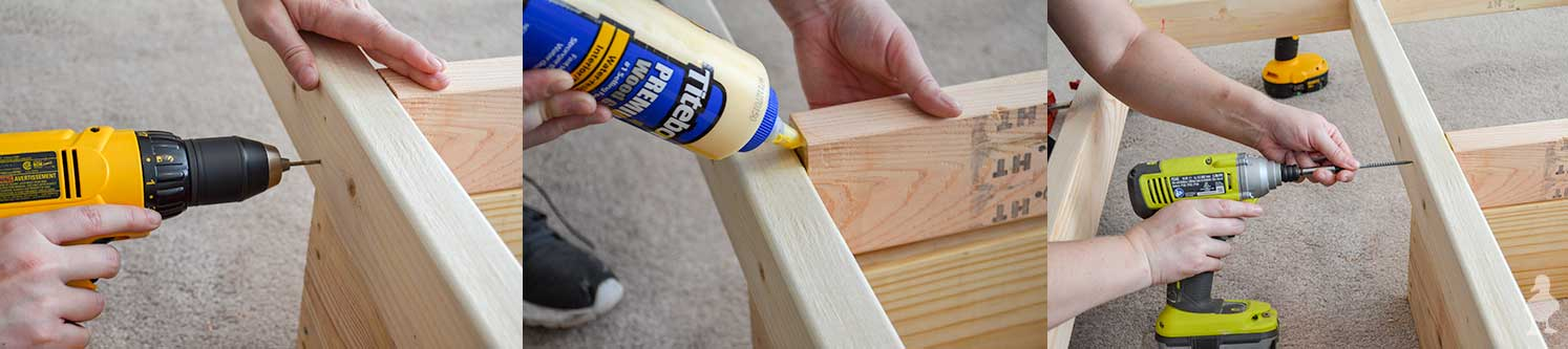 bed-frame---predrill-glue-and-screw-together