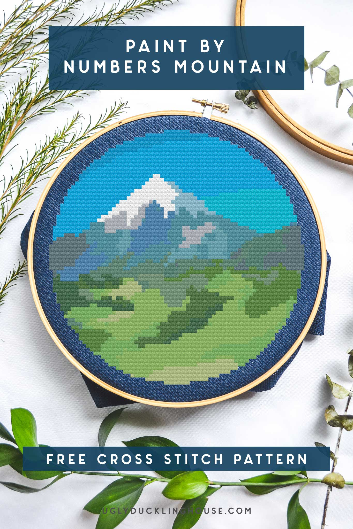 paint-by-numbers-mountain-free-cross-stitch-pattern