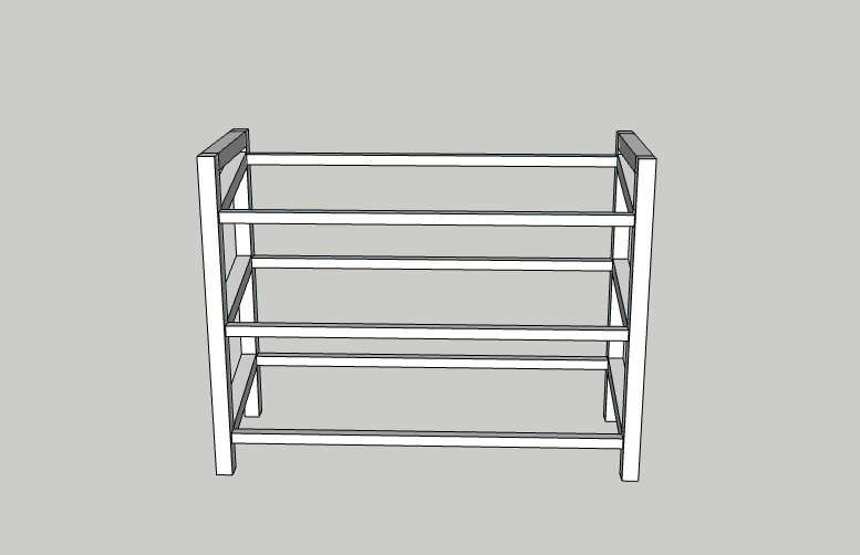 DIY Storage Shelf