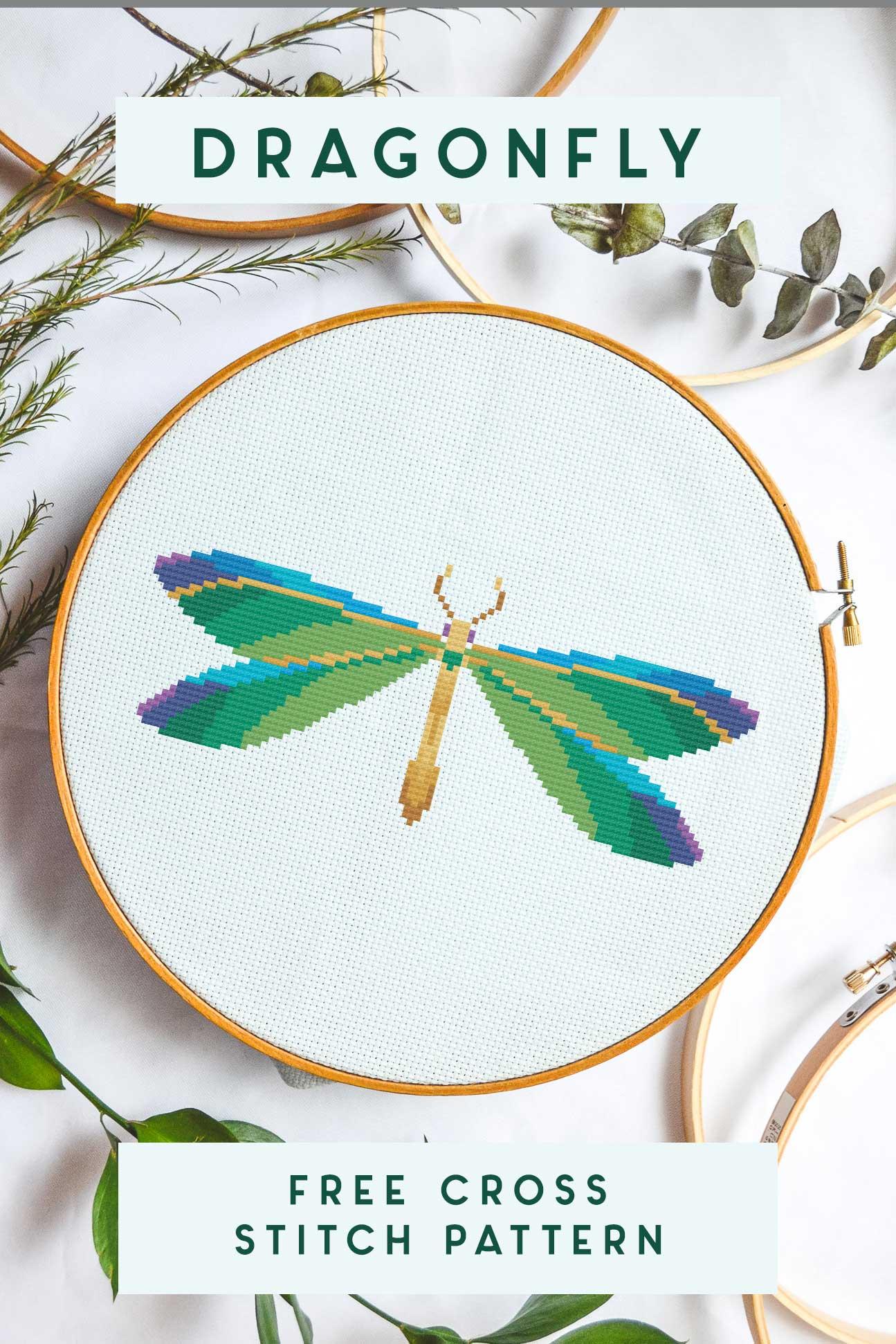 dragonfly-cross-stitch-free-pattern