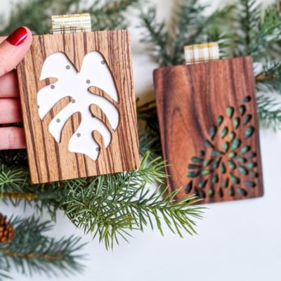 diy wood gift card holders