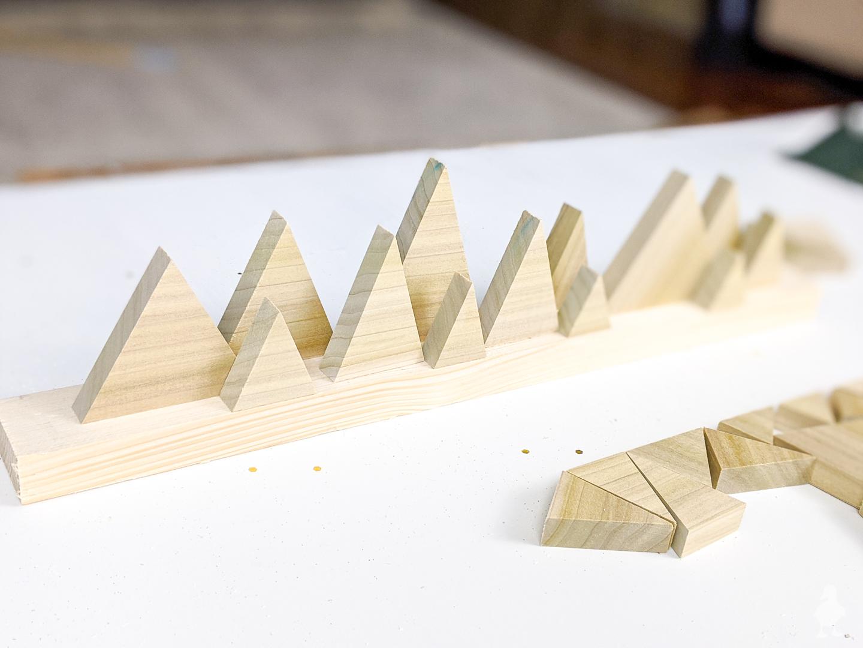 cut triangle trees
