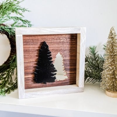 DIY Tree Cutout Art