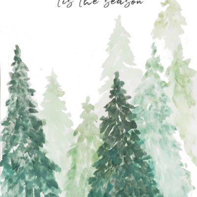 Tis the Season Christmas print