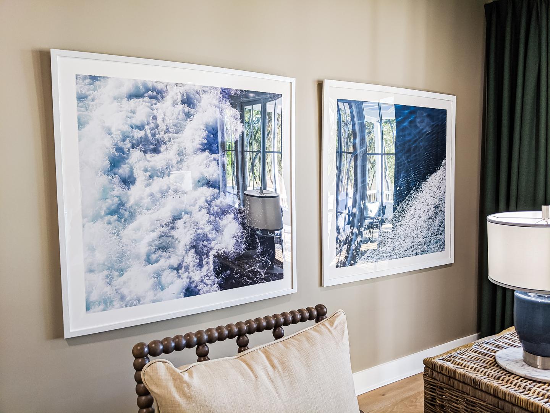 multipurpose room ocean art