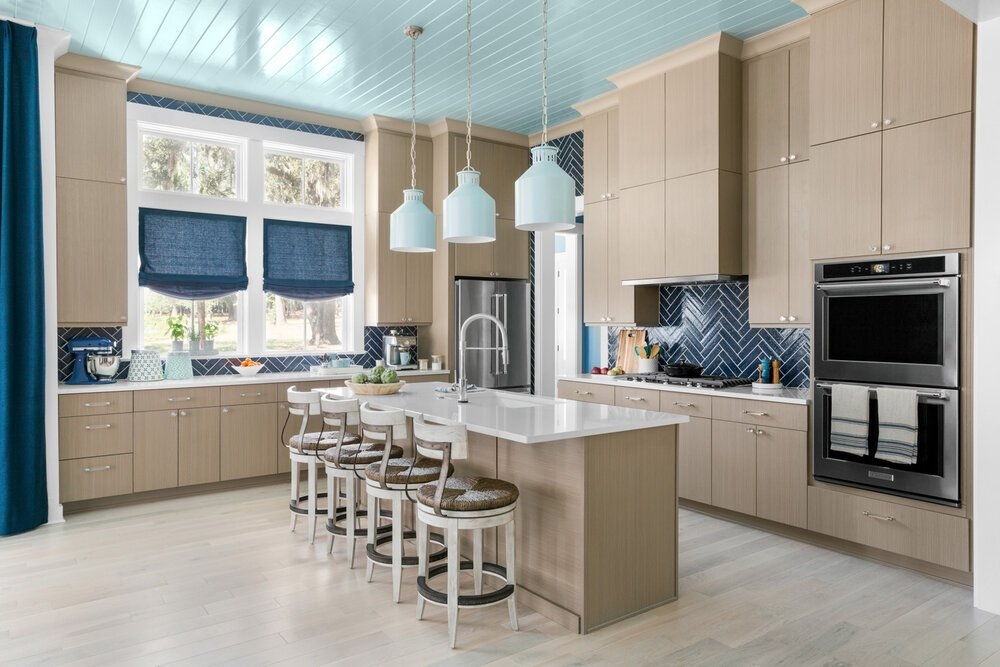 2020 HGTV Dream Home coastal kitchen