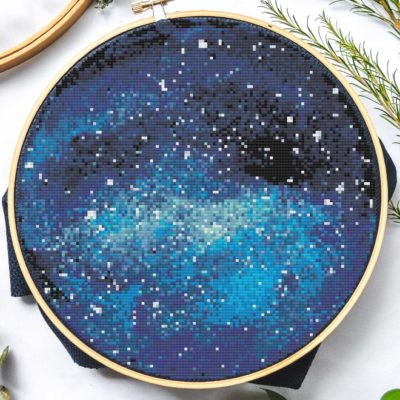Blue Space | Free Cross Stitch Pattern