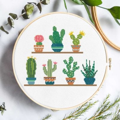 Cactus | Free Cross Stitch Pattern