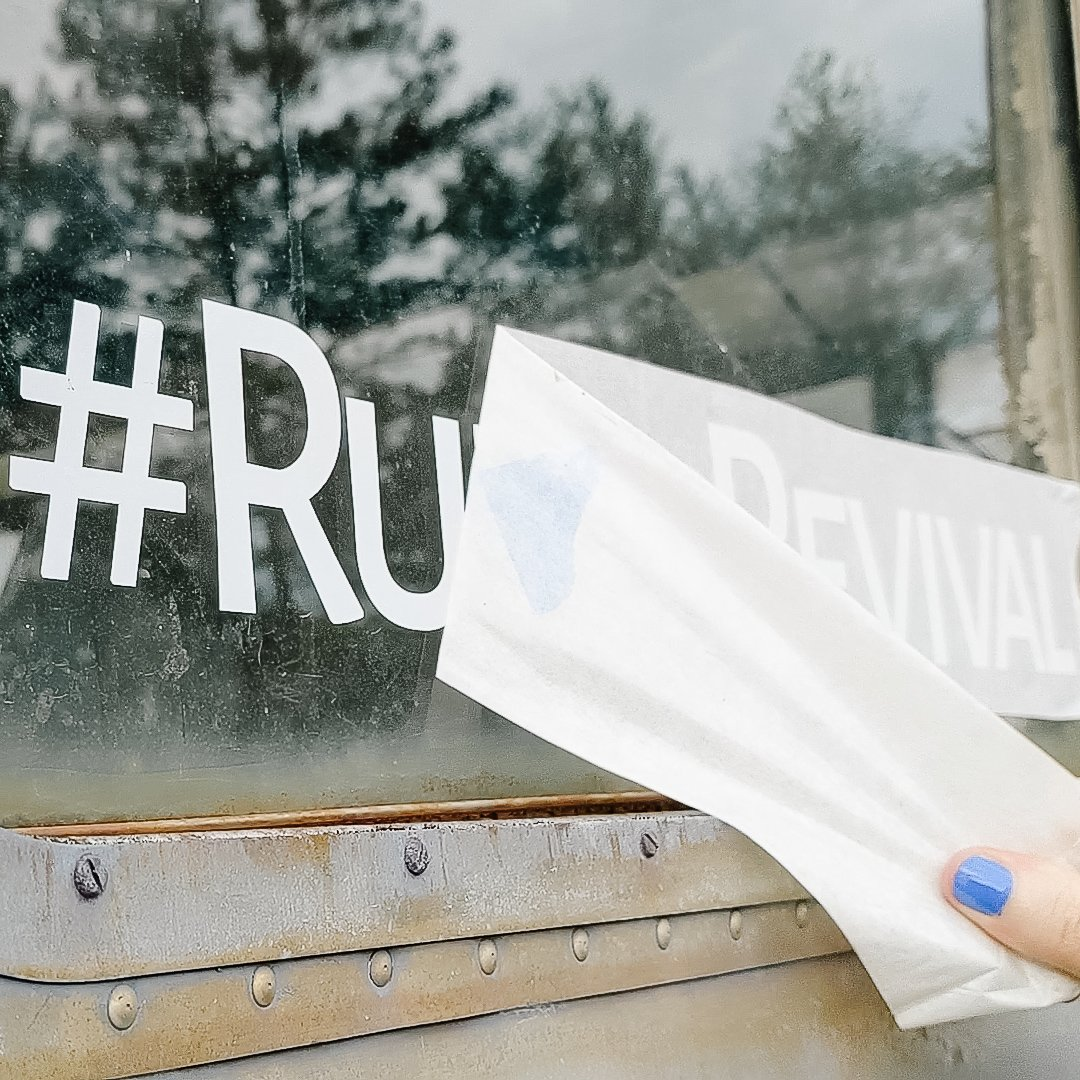 Ruby's Revival: Getting Noticed with Custom Decals