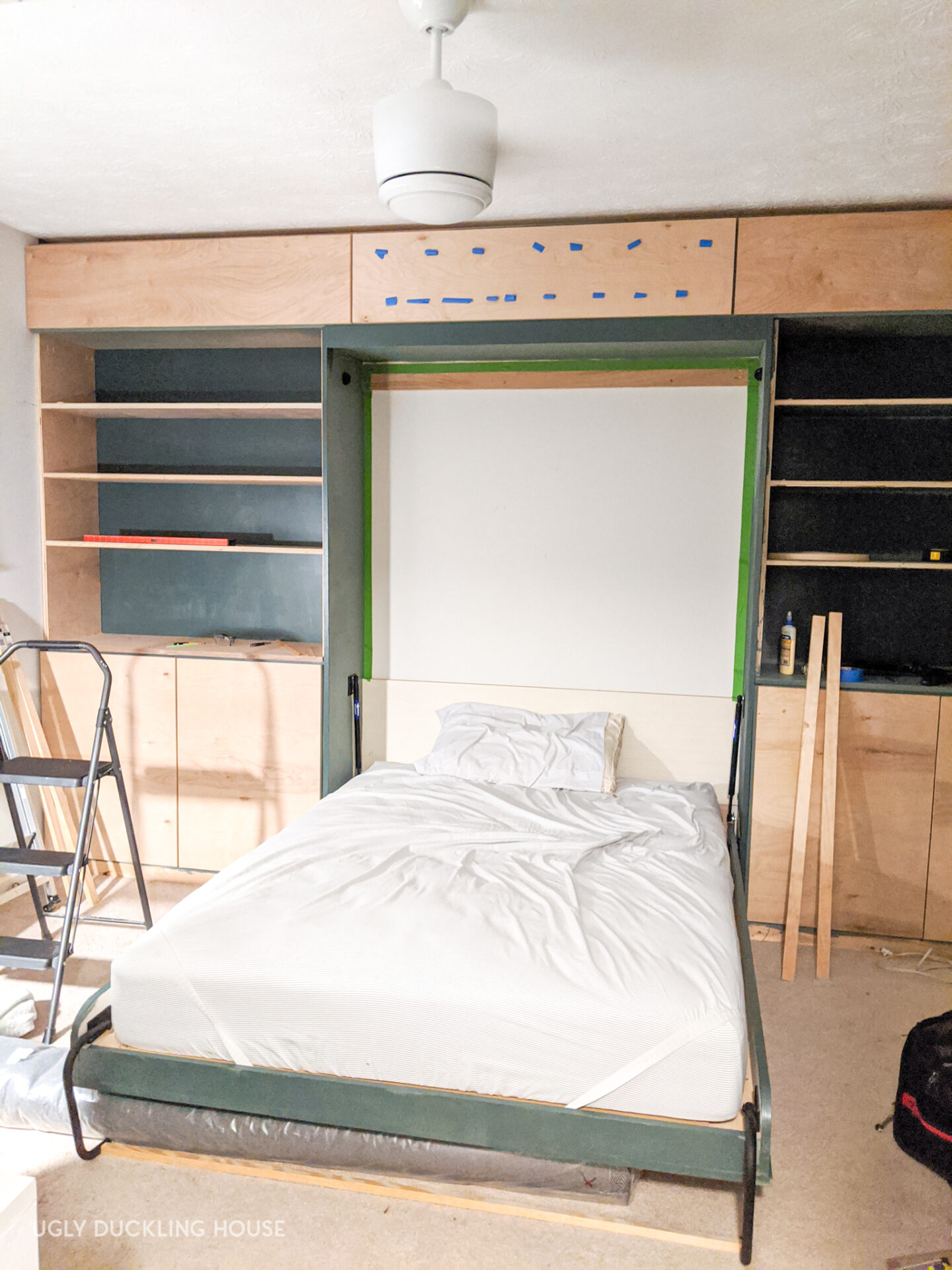 guest bedroom built-ins preview