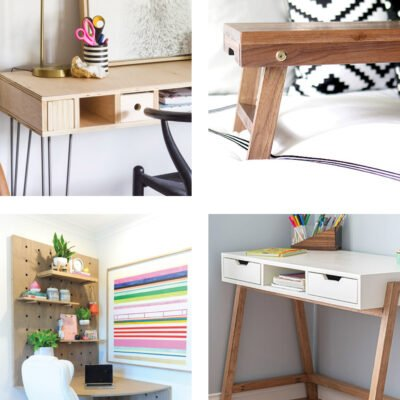 12 Easy Desk Builds for Distance Learning