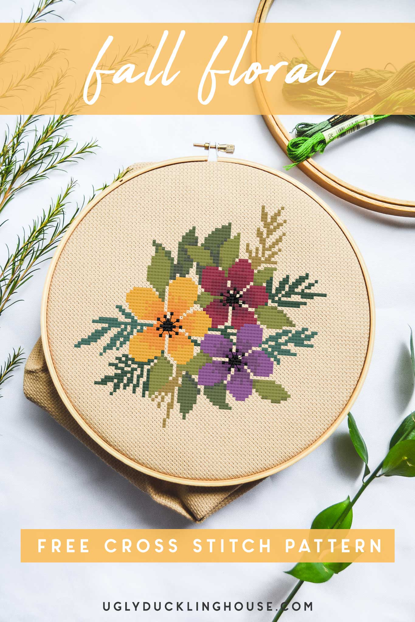 fall-floral-cross-stitch-pattern