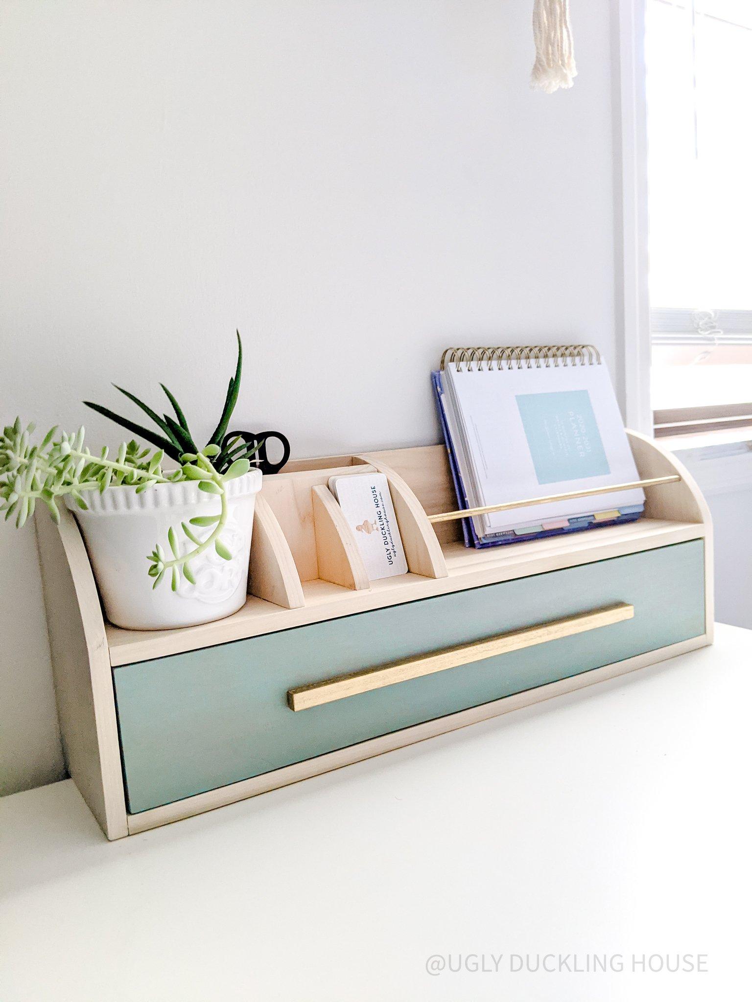 DIY Desk Organizer | Free Plans