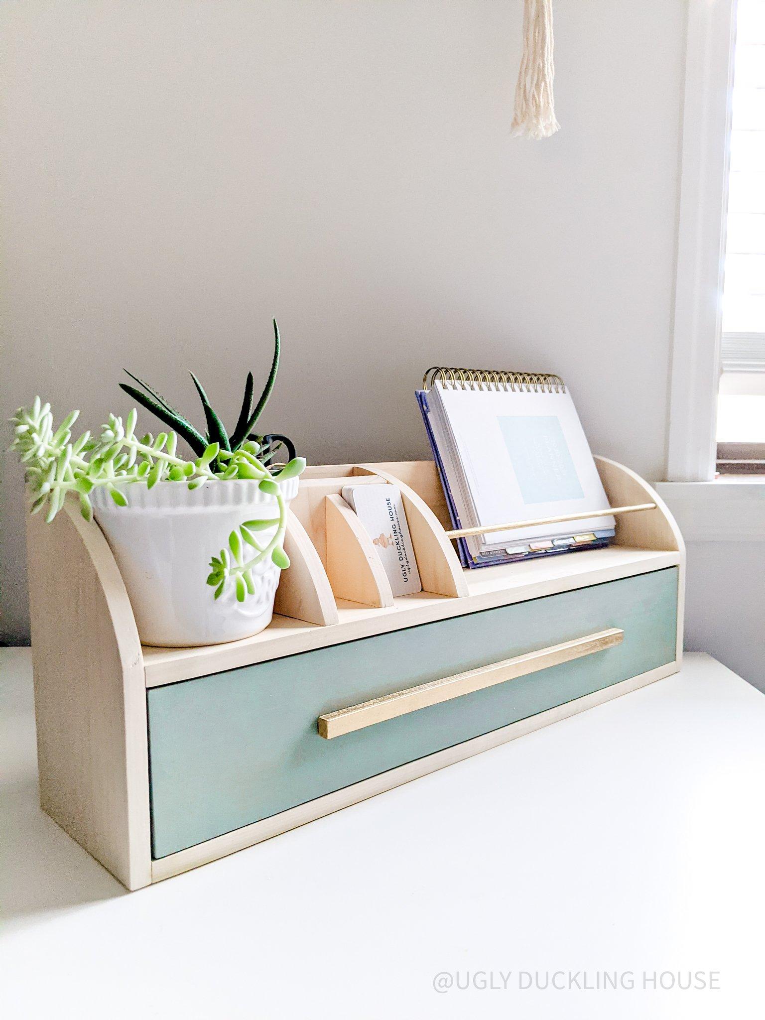 DIY desk organizer - Ugly Duckling House-3
