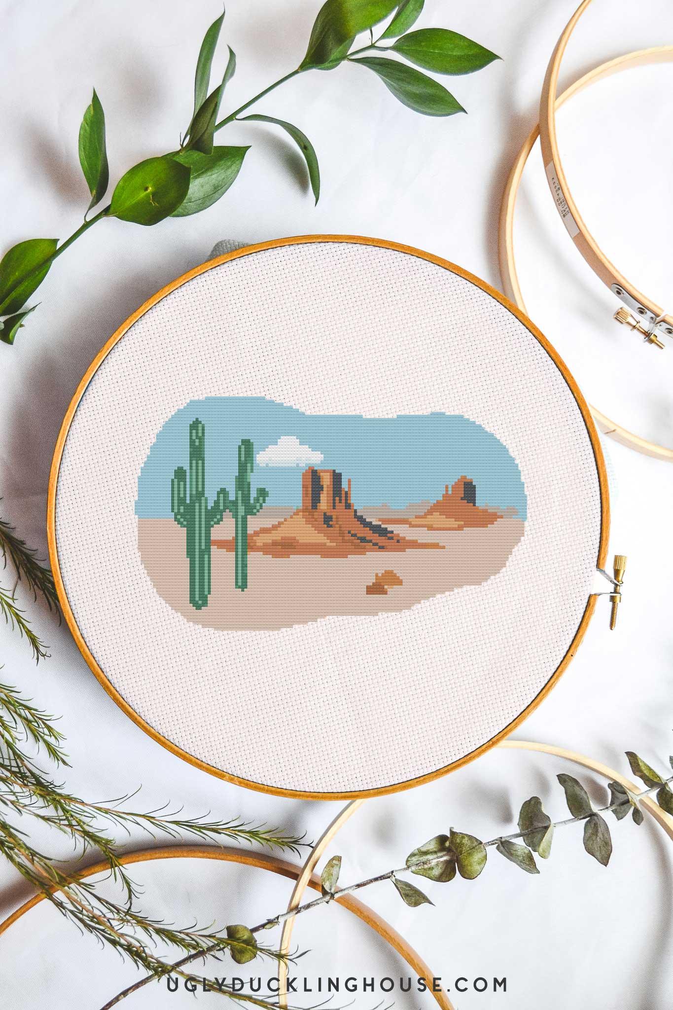 Desert | Free Cross Stitch Pattern