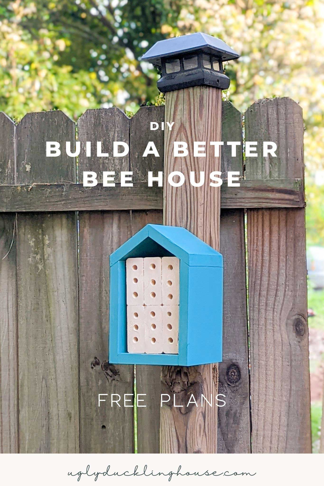 how to build a better bee house with these simple rules